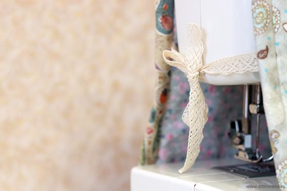 Чехол для швейной машинки своими руками / Handmade cover for sewing machine