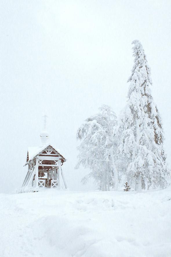 Белогорский монастырь, уральский афон, фотографии, зима, пермский край, пермь