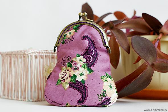 Кошелечки текстильные своими руками / Textile handmade purses