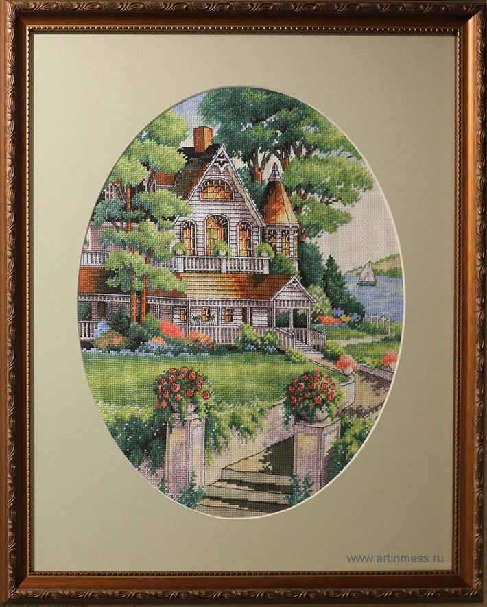 Lovely victorian house / дом в викторианском стиле dimenstions вышивка