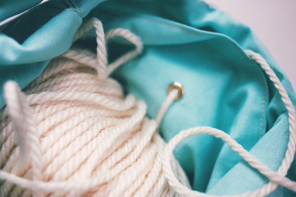 Японская сумка-узел, japanese knot bag