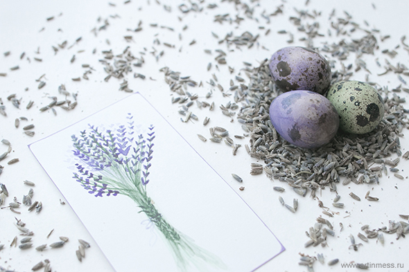 Пасха в лавандовых тонах / Easter in lavender colors