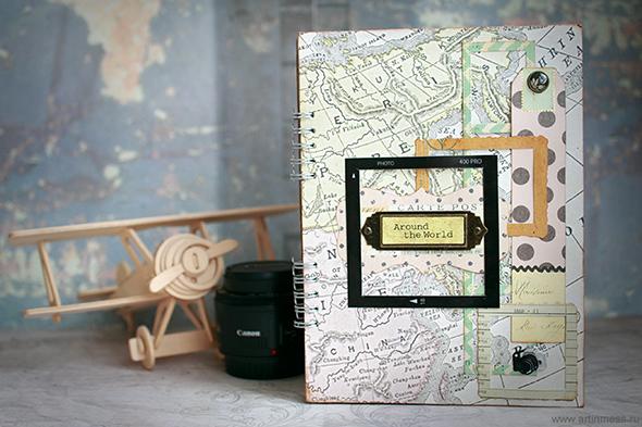 travel, путешествия, Травелбук, Travelbook, своими руками, handmade, mr.painter, романтика путешествий, K&Company