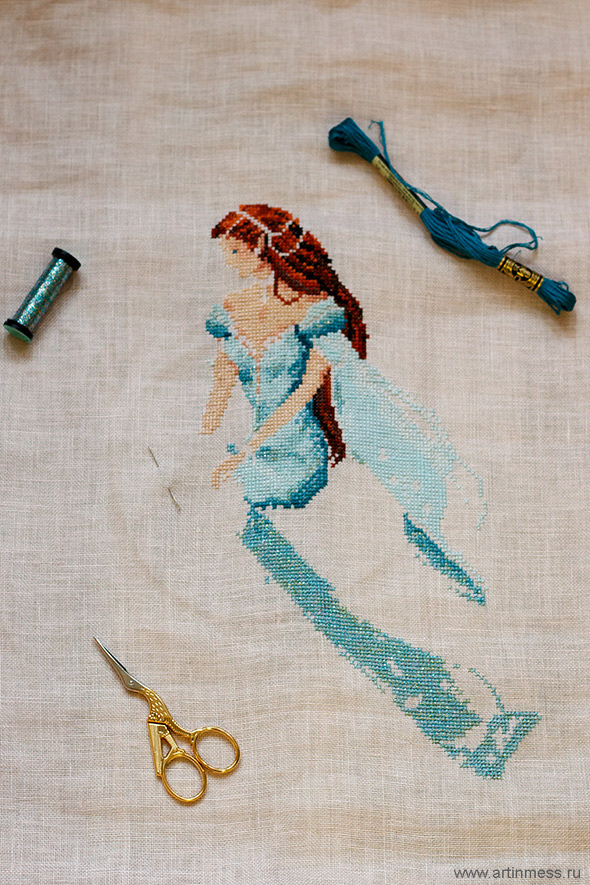Давным давно / Once upon a time... вышивка cross-stitching passione ricamo