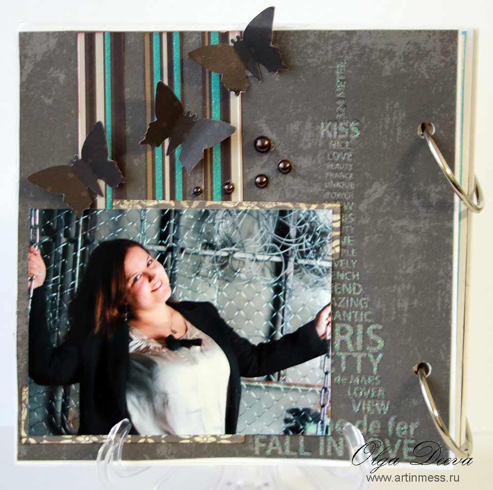 Скрап альбом ручной работы / Scrap handmade album
