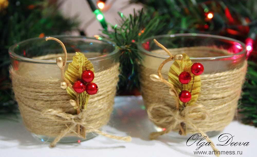 Подсвечники своими руками / Candle Holders handmade