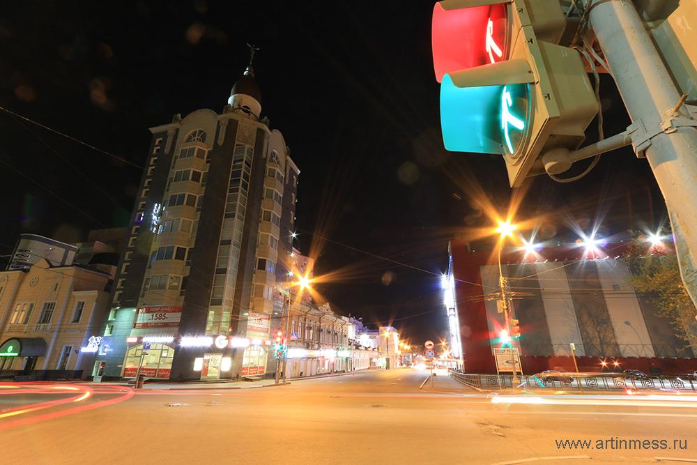 Ночной город Пермь / Night city Perm