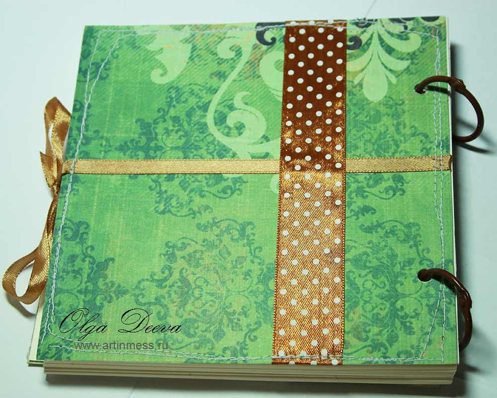 """Блокнот """"Совушка"""" ручной работы / Handmade Notebook """"Owl"""""""