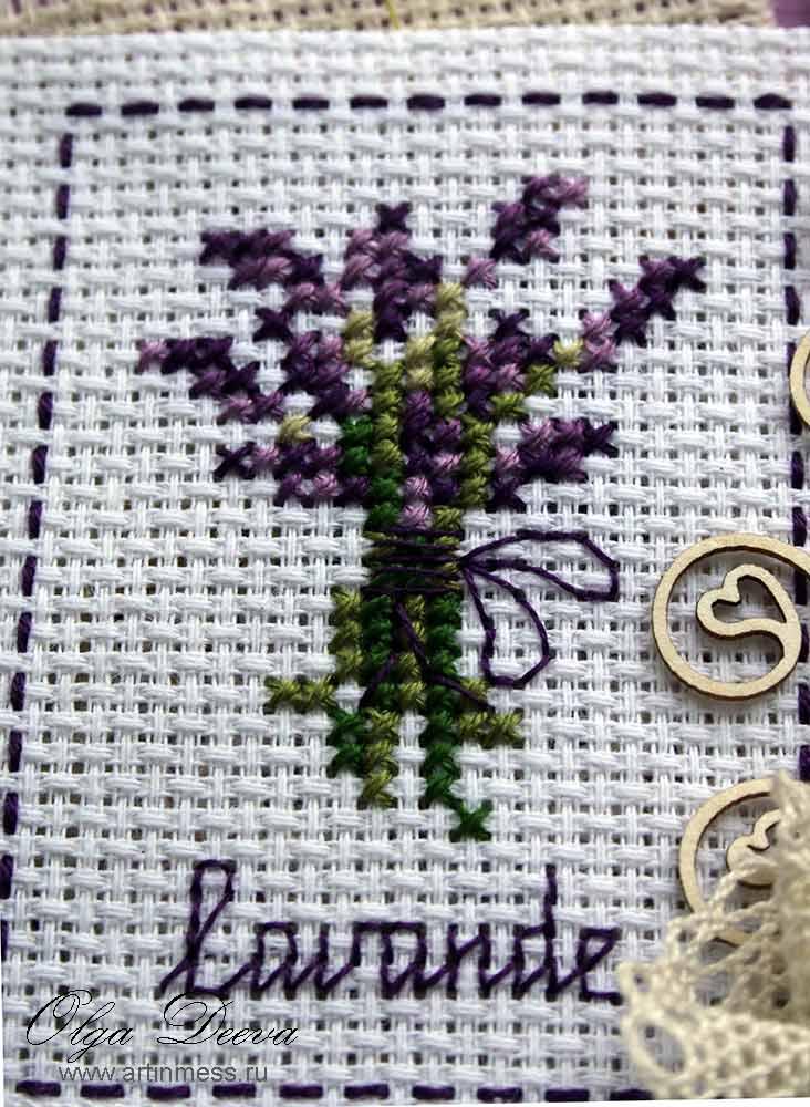 provence tag scrap прованс стиль тэг скрапбукинг вышивка cross-stitching cross-stitching disgram, схема лаванда lavande